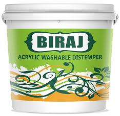 Biraj - Acrylic Washable Distemper